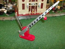 Buy LIONEL TRAINS POSTWAR 152 RED CROSSING GATE ALL ORIGINAL VERY NICE