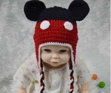 Buy crochet mickey hat digital pattern 3-6 months