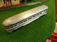 Buy LIONEL POST WAR 2551 CANADIAN PACIFIC BANFF PARK OBSERVATION CAR ORIG NICE