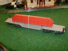 Buy LIONEL POST WAR 6418 MACHINERY DIE CAST FLAT CAR WITH GIRDERS ALL ORIGINAL