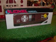 Buy LIONEL TRAINS MODERN ERA 19216 SANTA FE BOX CAR ALL ORIGINAL SHARP GRAPHICS