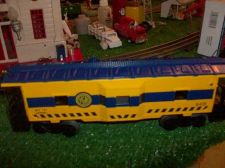 Buy LIONEL TRAINS MODERN ERA 6401 VIRGINIAN BAY WINDOW CABOOSE NOIB VERY SHARP