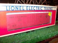 "Buy LIONEL TRAIN 6230 ERIE LACKAWANNA REEFER STD ""O"" ALL ORIGINAL SHARP GRAPHIC"