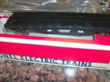"Buy LIONEL TRAIN 6233 CANADIAN PACIFIC FLAT CAR STD ""O"" ALL ORIGINAL SHARP"