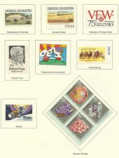 Buy 1974 USA STAMP Commemoratives Rural America, Minerals, Skylab & VFW 11 Stamps