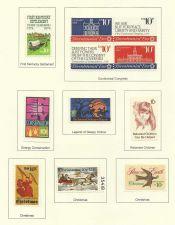 Buy 1974 USA STAMP Commemoratives Bicentennial, Kentucky, Sleepy Hollow, Christmas