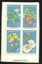 Buy US Endangered Flora 1979 - BLOCK OF 4