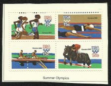 Buy US Summer Olympics 1979 - BLOCK OF 4