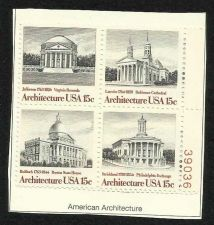 Buy US American Architect 1979 - BLOCK OF 4
