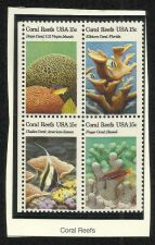 Buy US Coral Reefs 1989 - BLOCK OF 4 in high quality mount
