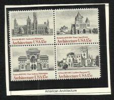 Buy US Architect USA 1980 - BLOCK OF 4 in high quality mount