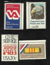 Buy US Veterans Civil Service Organized Labor 1979-83