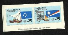 Buy US 1990 Micronesia/Marshall Islands Joint Issue Stamps