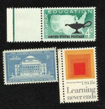 Buy Collection of 3 MNH US Education Stamps