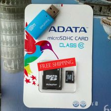Buy ADATA Micro SDHC Card Class 10 64GB Memory Cards Micro SDHC TF Gift Adapter