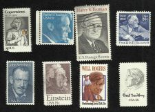 Buy US Stamps Famous People: Franklin Roosevelt, Harry Truman, Robert Kennedy & More