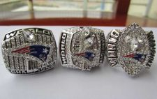 Buy A set New England Patriots super bowl ring championship NFL ring size 11 US gift