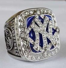 Buy 2009 New York Yankees MLB Baseball Championship Ring size 11 US Stein Brenner
