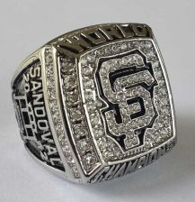 Buy 2012 San Francisco Giants MLB Baseball Championship Ring size 11 US Sandoval