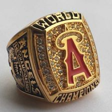 Buy 2002 Anaheim Angels MLB Baseball Championship Ring size 11 US Player CLAUS