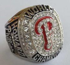 Buy 2008 Philadelphia Phillies MLB Baseball Championship Ring size 11 US Player Howa