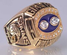 Buy 1990 NFL Super Bowl XXV New York giants Super Bowl Championship Ring Size 11 US