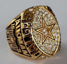 Buy 1992 NFL Super Bowl XXVII Dallas Cowboys Super Bowl Championship Ring Size 11 US