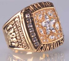 Buy 1995 NFL Super Bowl XXX Dallas Cowboys Super Bowl Championship Ring Size 11 US
