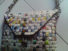 Buy Hobo Bags Recycled Newspaper Craft