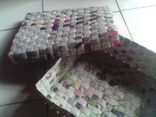 Buy Box Magazine Recycled Newspaper Craft