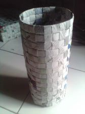 Buy Trash Recycled Newspaper Craft