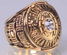 Buy 1966 NFL Super Bowl I Green Bay Packers Super Bowl Championship Ring size 11 US