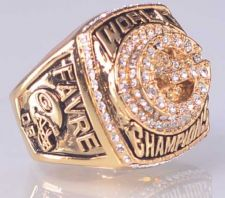Buy 1996 NFL Super Bowl XXXI Green Bay Packers Super Bowl Championship Ring size 11