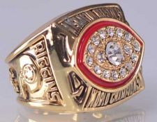 Buy 1982 NFL Super Bowl XVII Washington Redskins Super Bowl Championship Ring size11