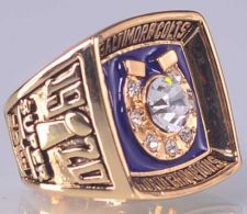 Buy 1970 NFL Super Bowl V Baltimore Colts Super Bowl Championship Ring size 11 US