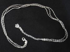 Buy Three Strand Necklace - 15 inch