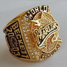 Buy 2003 NHL Florida Marlins Hockey Championship ring replica size 11 US