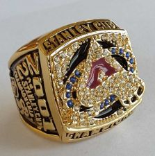 Buy 2001 NHL Colorado Avalanche Stanley Cup Championship Ring size 11 US