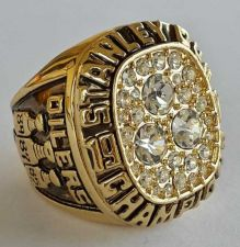 Buy 1987 NHL Edmonton Oilers Stanley Cup Championship Ring size 11 US