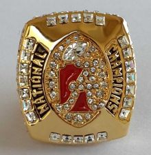 Buy 2011 Alabama Crimson NCAA Football Tide Championship ring replica size 11 US