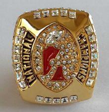 Buy 2011 Alabama Crimson NCAA Football Tide Championship ring replica size 11 US