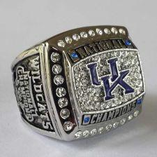 Buy 2012 University of Kentucky Wildcats NCAA basketball Championship ring size 11