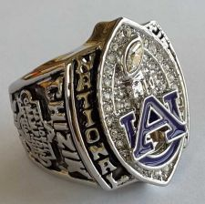 Buy 2010 University of Auburn Tigers NCAA basketball Championship ring size 11 US