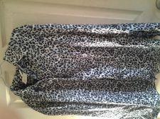 Buy Ladies Long Sleeve Animal Print Blouse