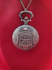 "Buy Antique Vintage Civil War Style Policeman's Pocket Watch ""To Protect and Serve"""