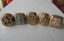 Buy A Set NFL Dallas Cowboys VI XII XXVII XXVIII XXX Super Bowl Championship ring