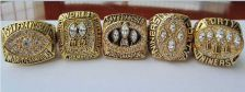 Buy A Set NFL San Francisco 49ers XVI XIX XXIII XXIV XXIX Super Bowl championship Ri
