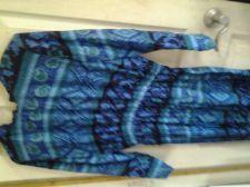 Buy Ladies Plus Size Full Length Long Sleeve Dress