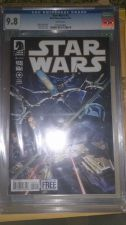 Buy STAR WARS 2 CGC 9.8 WITH DYNAMIC FORCES COA, 1ST PRINT, READY TO SHIP