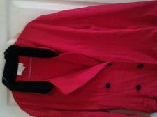 Buy Ladies Red Dress/Trench Coat.